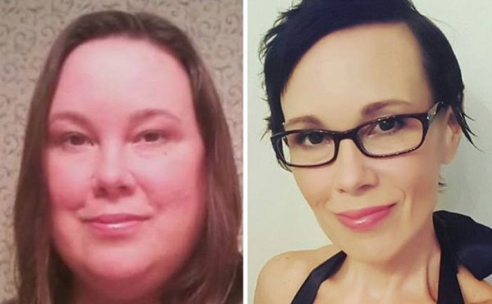 Weight Loss Does Wonders For Your Face (20 pics)