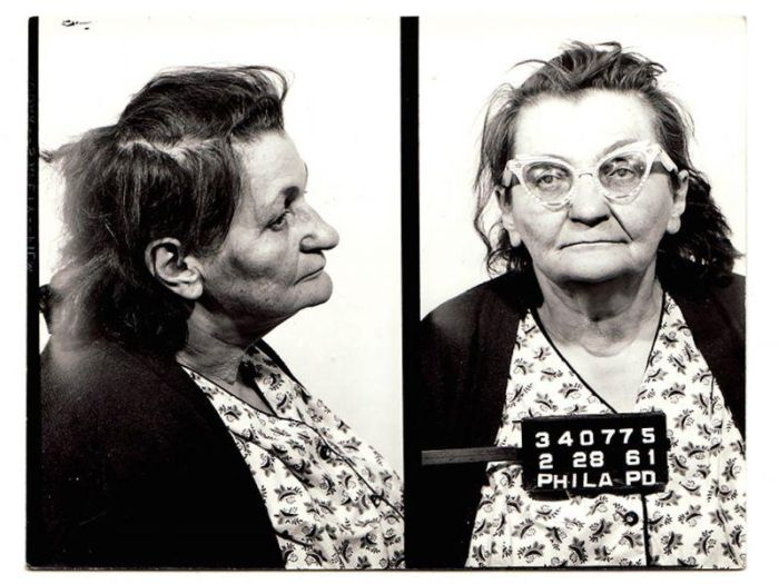 Colorful Pictures Of Criminals Detained In The 50-60 Years In Philadelphia (25 pics)