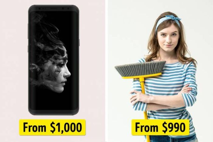 Things That Cost Almost The Same (20 pics)