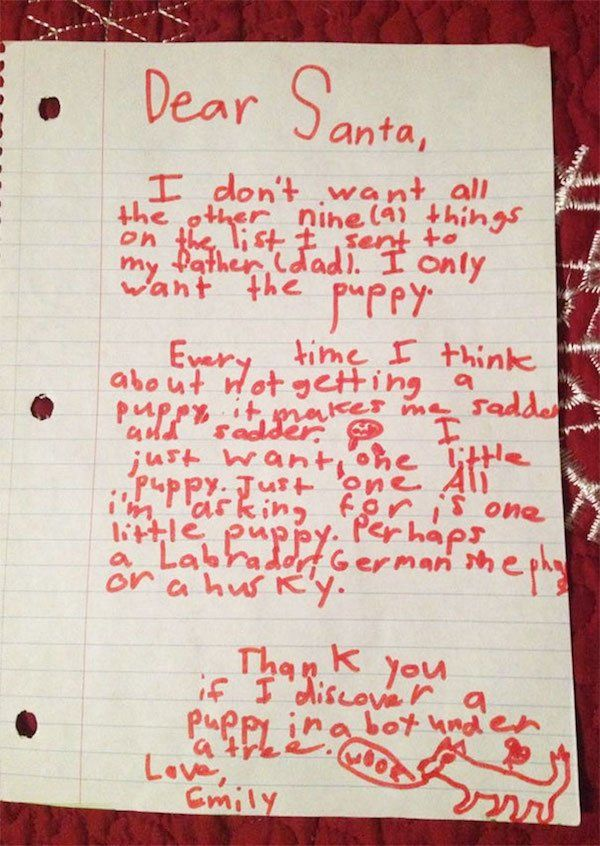 Kids Letters To Santa (23 pics)