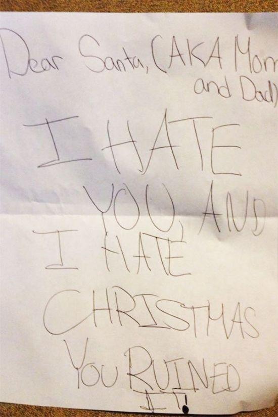 Kids Letters To Santa (23 pics)