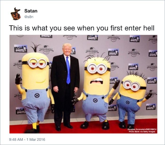 Satan's Twitter Account Is Funny As Hell (18 pics)