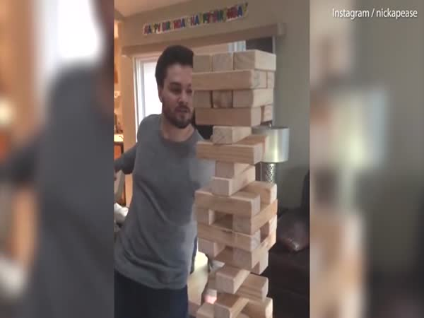 California Man Pulls Off 'Best Jenga Move Ever'