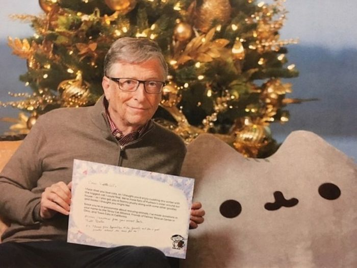 "Bill Gates again became a ""secret Santa"" for one of the users of Reddit (3 pics)"