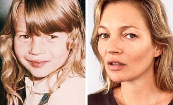 Famous Women When They Were Kids (24 pics)