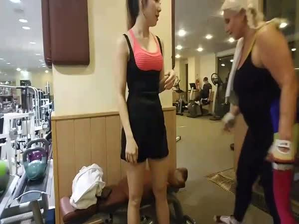 Twitch Workout Chick Gets Called Out For Hogging Gym Equipment