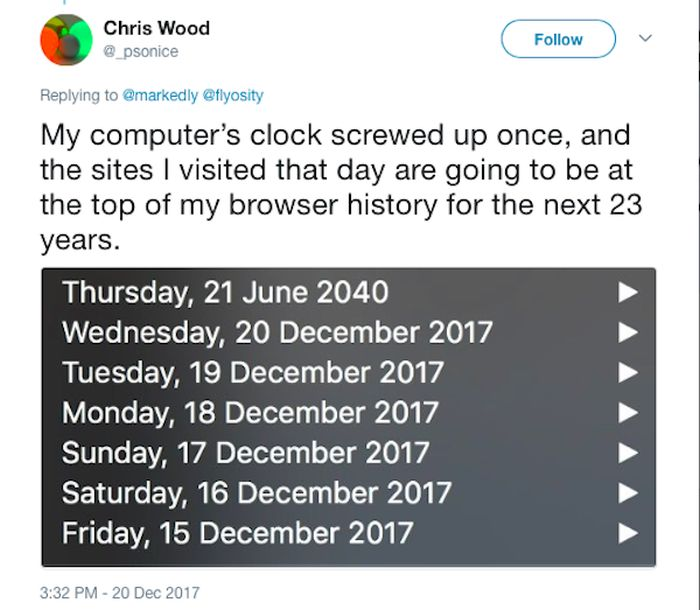 Annoying Thing His Browser Does (18 pics)