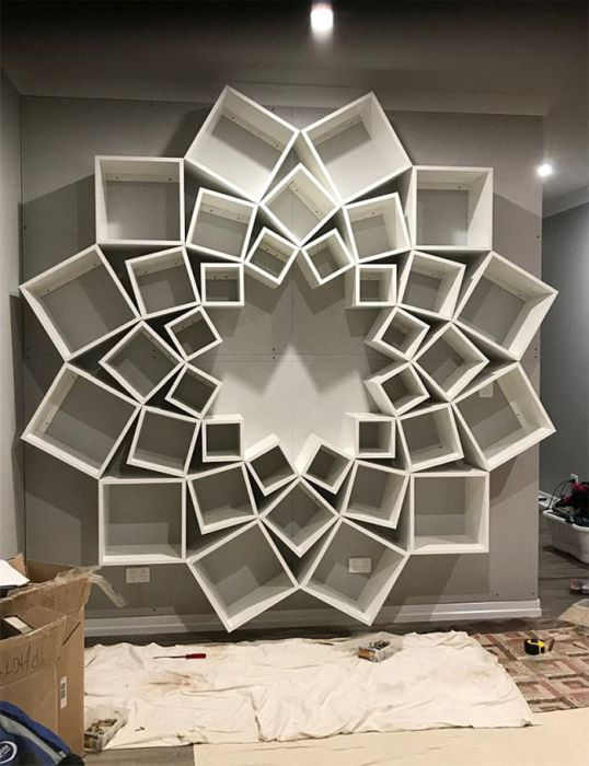 DIY Bookshelf Design (7 pics)