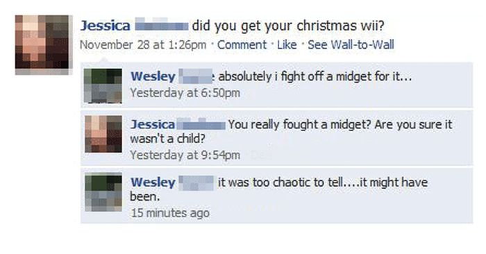 Funny Christmas Posts On Facebook (29 pics)