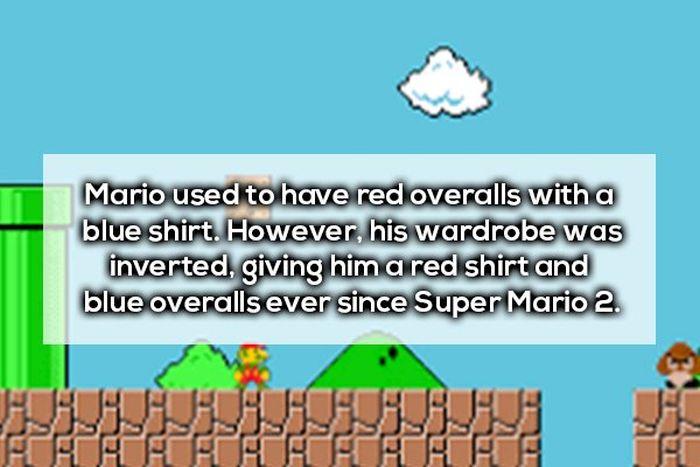 Mario Facts (18 pics)