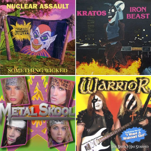 Bad Metal Album Covers (17 pics)