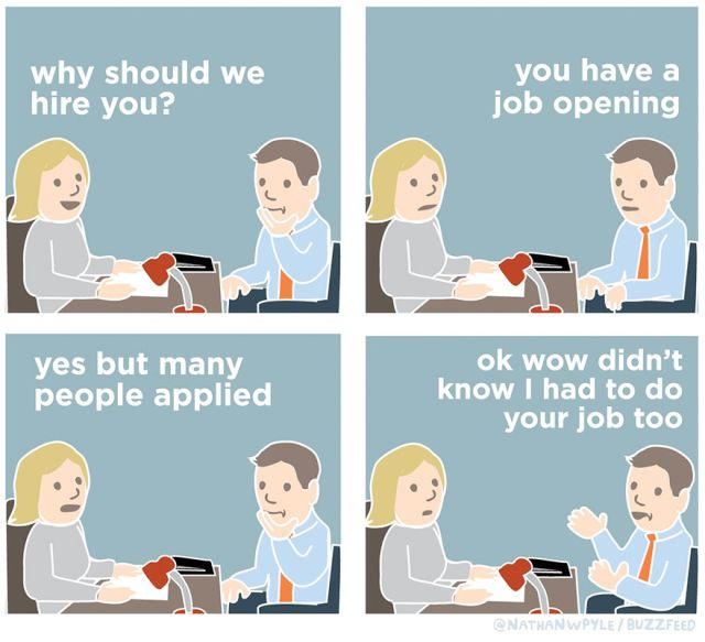 Job Interview Comics (10 pics)