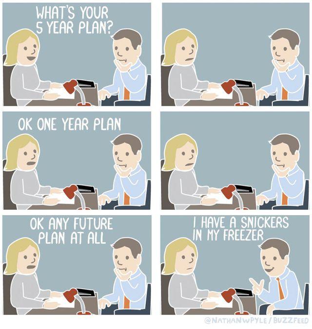 Job Interview Comics (10 pics)
