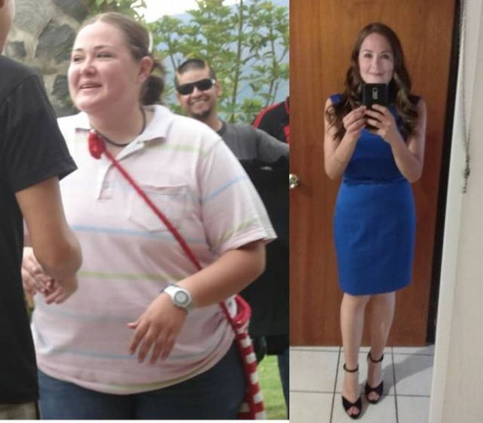 Before And After Losing Weight (21 pics)