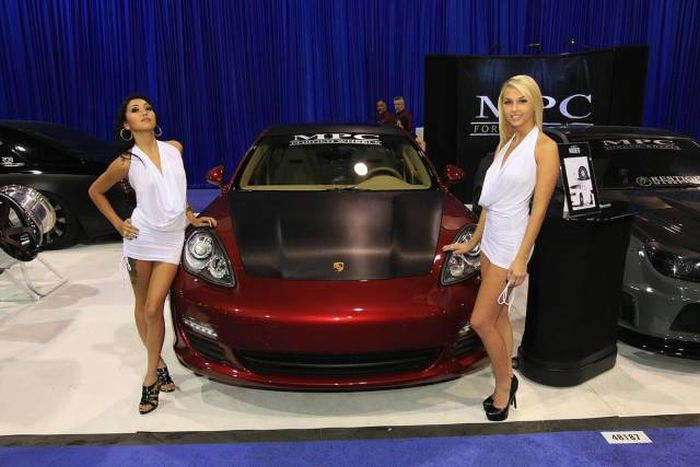 Hot Girls At Motor Shows (47 pics)