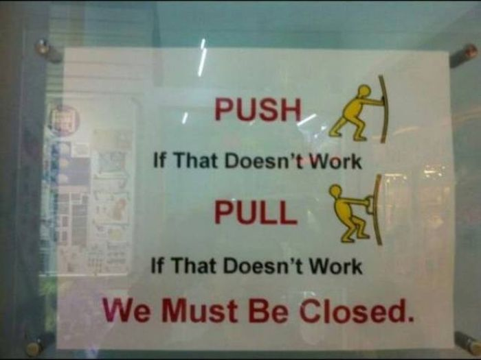 Funny Retail Signs (38 pics)