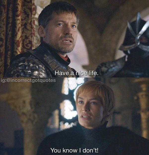 Game of Thrones Quotes (26 pics)
