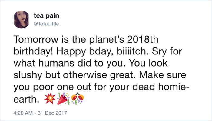 People Who Think Earth Is 2018 Years Old (18 pics)