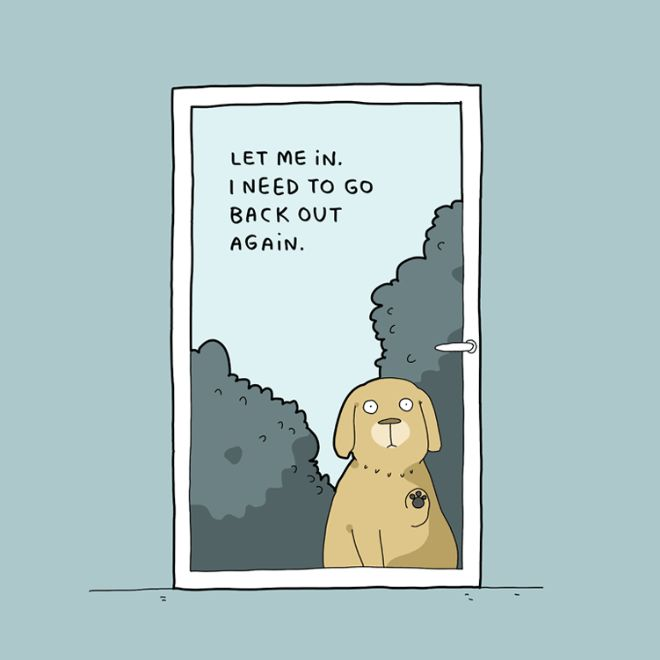 10 Illustrations Every Dog Owner Can Relate To (10 pics)