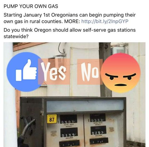 New Oregon Gas Pumping Law (10 pics)