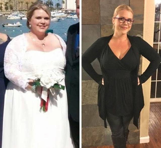 People Who Lost Weight (38 pics)