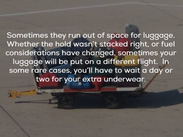 Secrets From The World Of Airline Baggage Handlers (16 pics)
