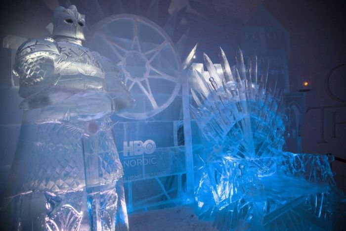 A Game of Thrones-Themed Ice Hotel In Finland (7 pics)