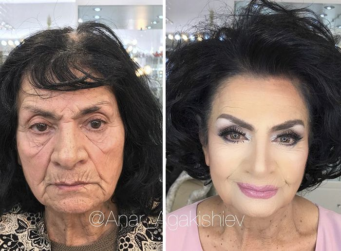 Makeup Transformation (18 pics)