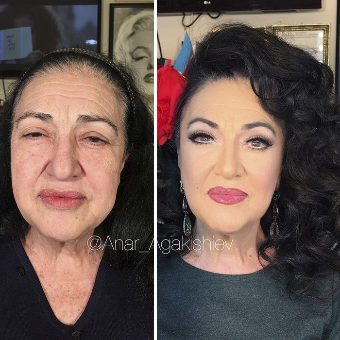 Makeup Transformation (18 pics)