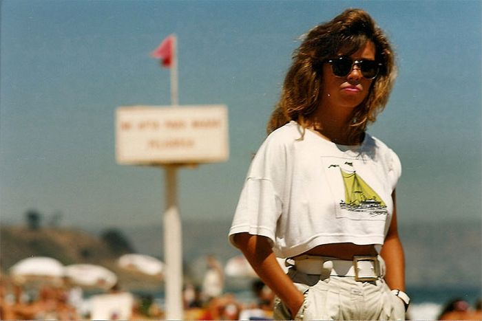 Chilean Beach Life In The 1980s (20 pics)