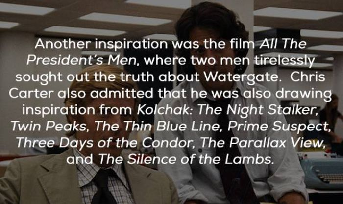 "Facts About The ""X-Files"" (23 pics)"