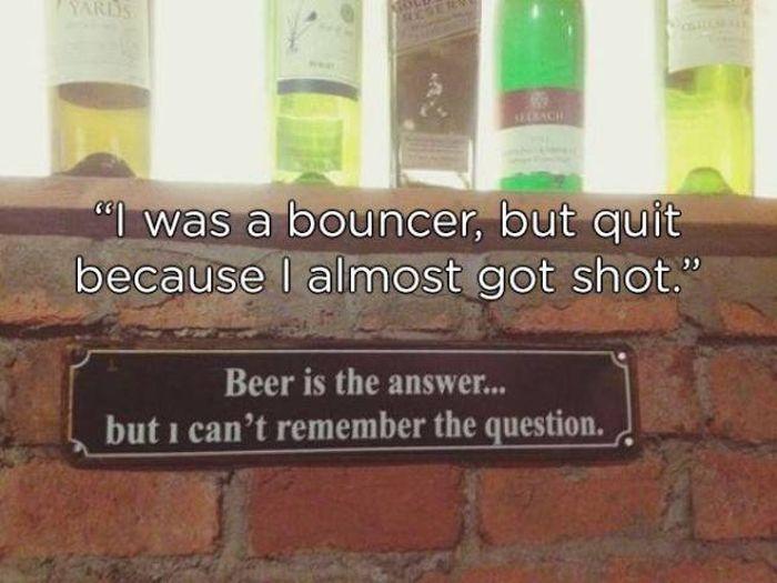 Bouncers Have A Hard Job (15 pics)