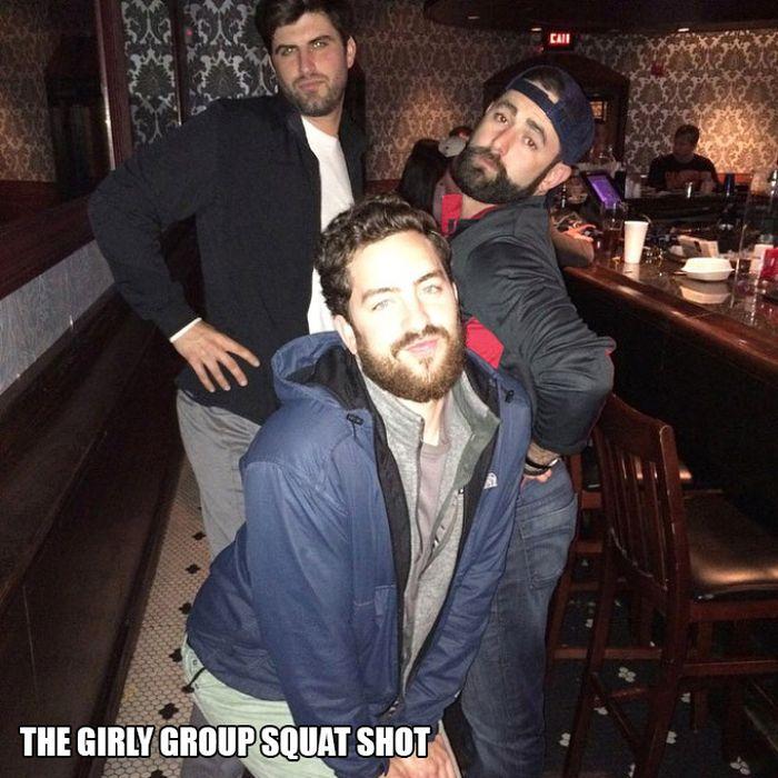 Guys Parodying Typical Women Photos (14 pics)