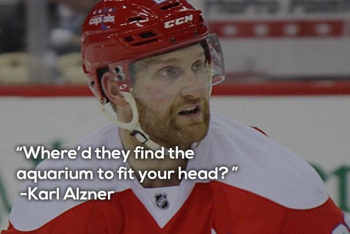 NHL 'Chirp' (16 pics)
