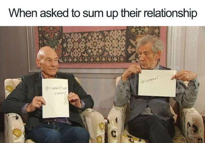 Patrick Stewart And Ian McKellen Friendship (44 pics)