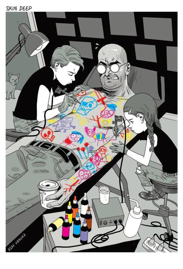 Realistic Comics (38 pics)