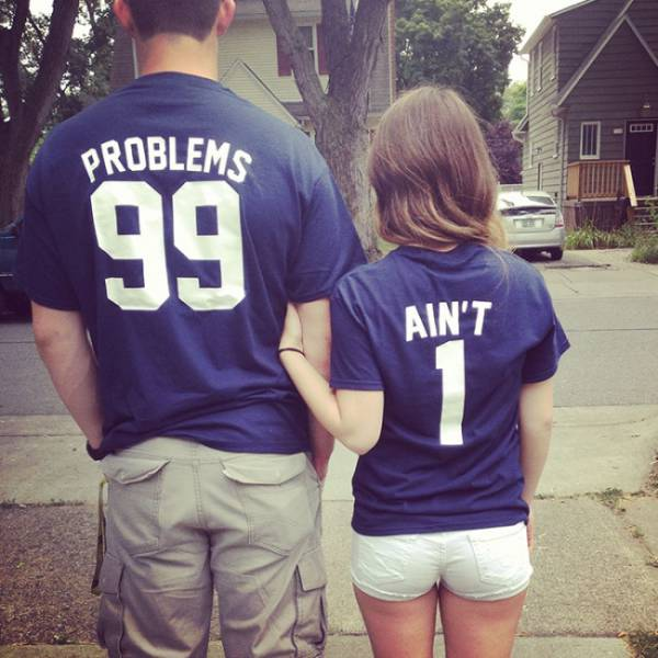 T-Shirt Pairs Show The Cutest Connection Between People (27 pics)