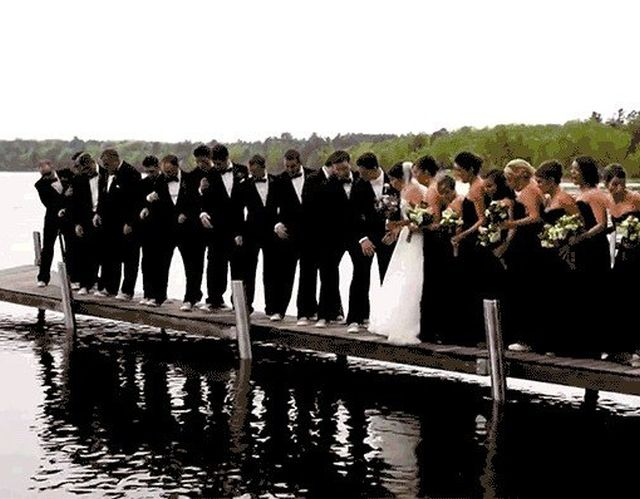 Wedding Fails (16 gifs)