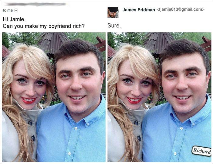 Hilarious Photoshop Troll (15 pics)