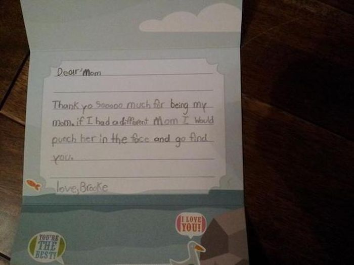 Hilarious Notes From Kids (27 pics)
