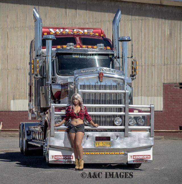 World's Sexiest Truck Driver (18 pics