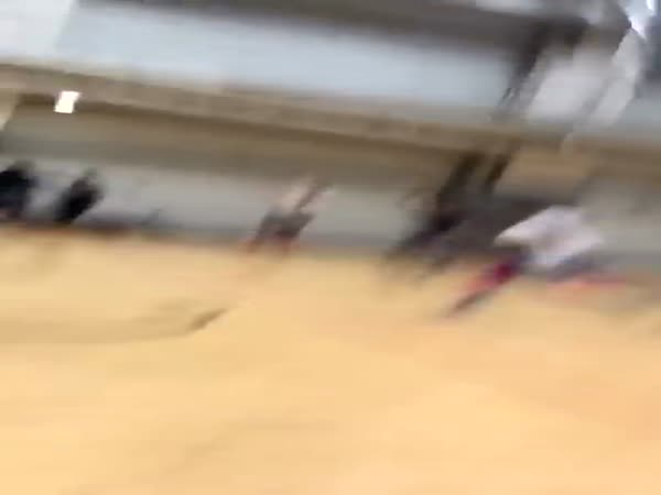 Police Brutality Of A Black Student On The Basketball Court