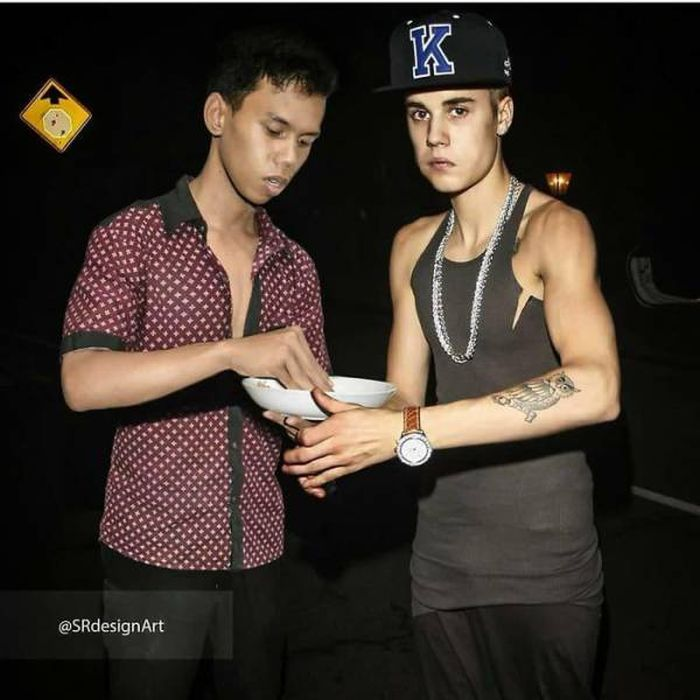 This Photoshop Master Syahril Ramadhan Has Many Celebrity Friends! (27 pics)