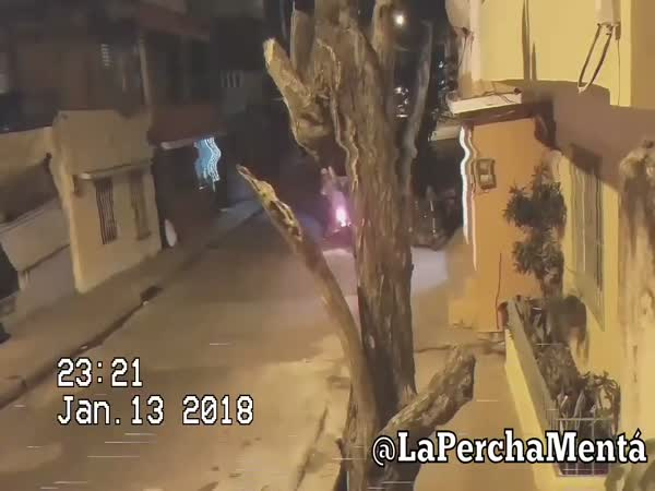 Motorcycle Robbery Gone Wrong