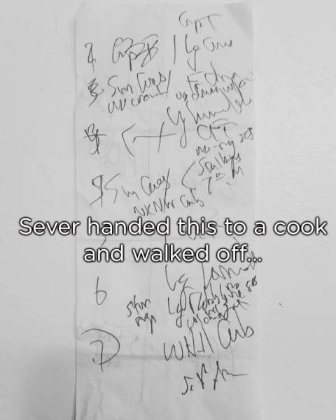 Funny Restaurant Situations (28 pics)