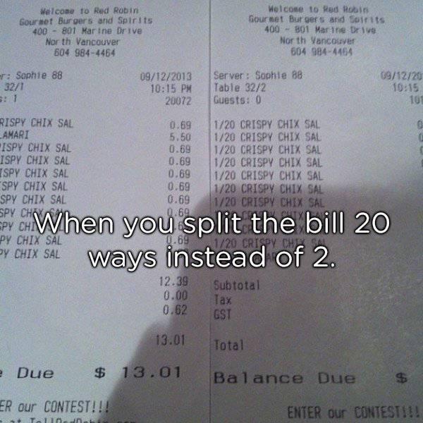 Funny Restaurant Situations (28 pics)