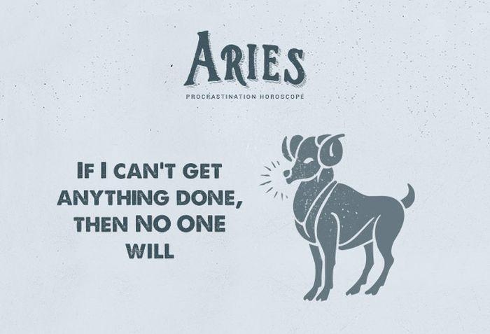 Procrastination Horoscope (12 pics)