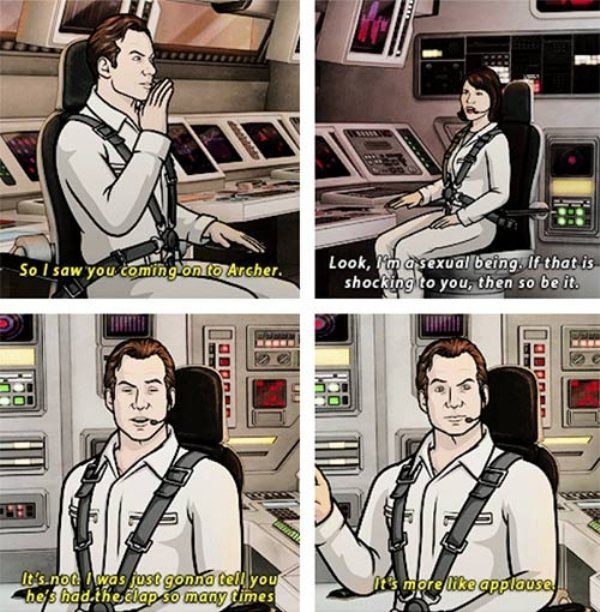 Archer Jokes (13 pics)