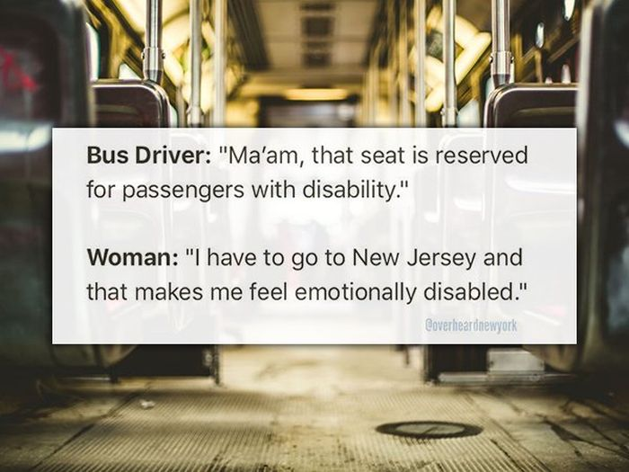 New Yorkers Share The Weirdest Things They've Overheard (25 pics)