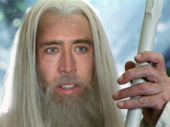 If Nicolas Cage Played Every Role In Hollywood… (17 pics)
